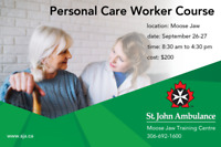 Personal Care Worker Course