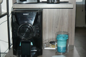 chaine stereo avec station ipod