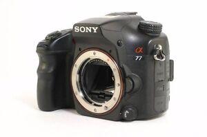 Sony Alpha SLT-A77V 24.3MP 1080p GPS Digital DSLR Camera Spring Farm Camden Area Preview