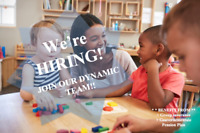 Hiring! Educators in a daycare setting!