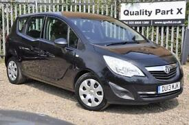 2013 Vauxhall Meriva 1.3 CDTi ecoFLEX Exclusiv 5dr (a/c)