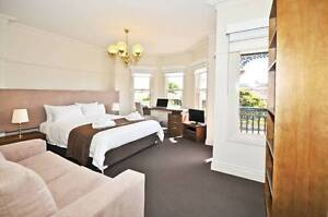 QUALITY & CLASS. DOUBLE/TWIN SPLIT SECURE FURNISHED RM BILLS INC Melbourne CBD Melbourne City Preview