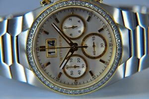 NEUF ** Montre WITTNAUER CRYSTAL CHRONO ** AUTHENTIQUE ** NEW