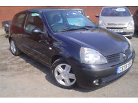 2005 Renault Clio 1.5dCi 65 Extreme 4+nice miles+£30 a year tax