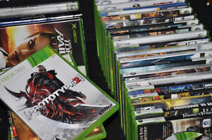 LOT JEUX XBOX 360 CONSOLE FARCRY NHL GTA  ASSASSIN'S CREED