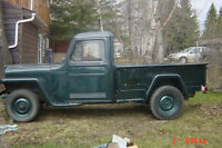 Wanted 1947- 55  willys truck box