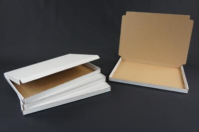 500 A4 C4 Postal Cardboard Boxes Mailing Shipping Large Letter 340x240x22 AP2