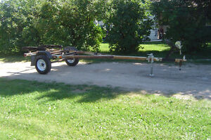 BUNK STYLE BOAT TRAILER