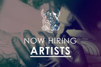 ! Hiring Tattoo Artists !
