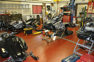 Snowmobile Tune-Up Repair Maintenance Inspection Quality Service