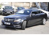 2012 Mercedes-Benz C Class 2.1 C250 CDI BlueEFFICIENCY AMG Sport 2dr