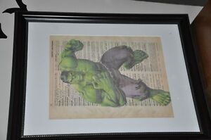 Superheroes! Framed 8 x 10 pictures