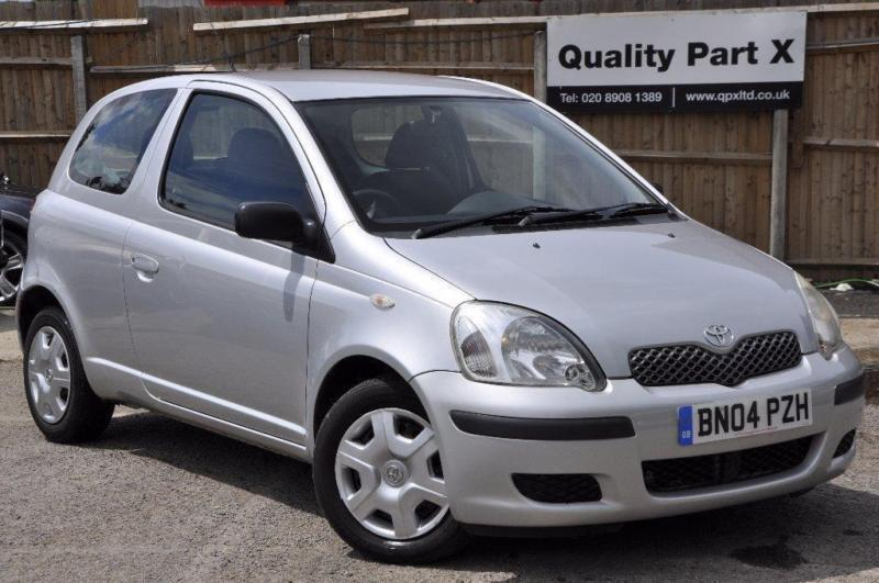 2004 toyota yaris 1 3 vvt i t3 3dr in wembley london gumtree. Black Bedroom Furniture Sets. Home Design Ideas