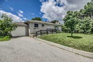 3+2 Bedroom Bungalow For Rent Steps to Stouffville Hospital