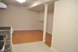 One BR Basement Apartment For Rent