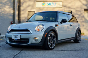 2013 MINI CLUBMAN PANORAMIC ROOF, HEATED SEATS, BLUETOOTH