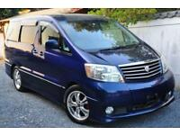 TOYOTA ALPHARD IN BLUE, 2004, 3.0 LITRE V6, PETROL, 56,364 MILES, AUTOMATIC