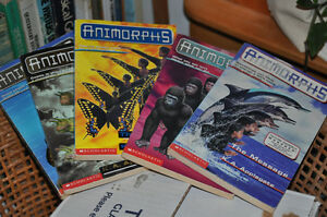 Set of 30 Animorph books