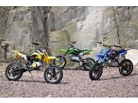 BRAND NEW PIT Dirt bike 2016 Mini ATV Motor Bike Scrambler 49cc 50 cc PERFECT PRESENT 50cc 2 stroke