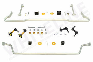 BRAND NEW WHITELINE LOWERING SPRINGS & SWAY BARS! BEST PRICES!!