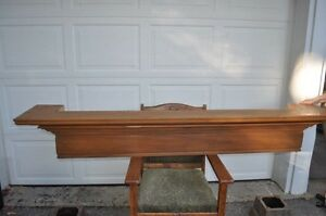 Solid Maple MANTLE - for Fireplace or Wall Display Kitchener / Waterloo Kitchener Area image 1