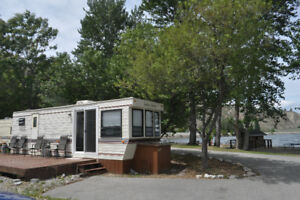 The best spot in the park at Summerland Beach RV Park!!