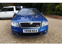 2008 58 Skoda Octavia 2.0TDI PD VRS 170 BHP TD 6 SPEED 1 OWNER FSH 61 MPG ECO
