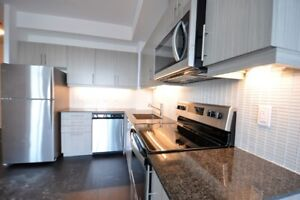 High End Condo for rent 1+1 Bedrm Walk to Subway