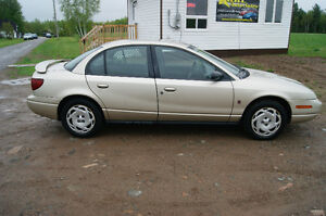 2001 Saturn S-Series loaded Sedan