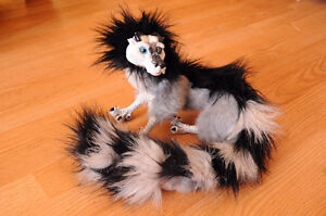 ❖ One of a Kind : Chinese Lemur Posable Dragon Art Doll London Ontario image 4