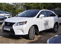 2015 Lexus RX 450h 3.5 Advance Station Wagon CVT 4WD 5dr (Pan roof)