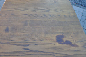 Wooden Square Table - great for Chalk painting! Cambridge Kitchener Area image 4