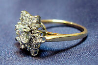 Lady's Hand Made Diamond Ring