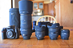 For Sale - D300s Camera and assorted lenses