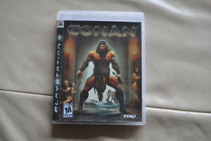 Conan for Ps3, like new!