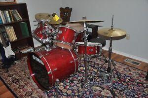 Yamaha Stage Custom all birch shell Drum Set