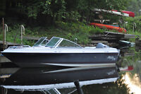 17.5 Malibu Runabout with Yamaha 115 Runs Well with Trailer