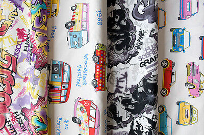 Designer Fabric - Quality Upholstery, Curtain Fabric, Grafitti ...