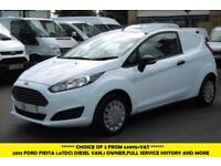 2013 FORD FIESTA ECONETIC 1.5TDCI DIESEL VAN WITH ONLY 60.000 MILES,PARKING SENS