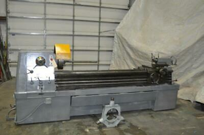 17 X 80 Clausing Colchester Engine Lathe 3-12 Hole Through Spindle