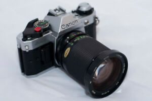 CANON AE-1 PROGRAM Film Camera with Zoom Lens