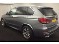2015 GREY BMW X5 3.0 XDRIVE30D M SPORT DIESEL AUTO 4X4 CAR FINANCE FR £113 PW
