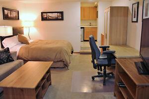 Fully furnished Studio Suite - Hinton, Alberta
