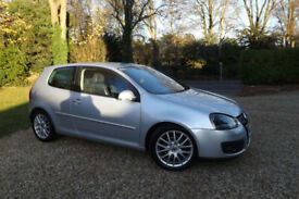 2008 58 Volkswagen Golf 2.0 TDI GT Sport 170 BHP 6 SPEED DIESEL 3dr FSH LEATHER