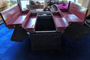 Pair of Large Cantilevered Tool Boxes - Heavy Duty incl contents