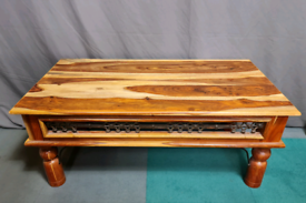 Solid Jali Sheesham coffee table