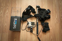 GoPro Hero 3 Silver Plus with Extras