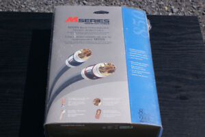 Monster 850i RCA audio cable, 2.43M/8ft, new, NIB