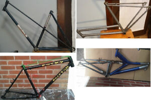 Cadre : Cycle-du-Moulin, Raleigh cr-mo, SuperCycle, Suspension !