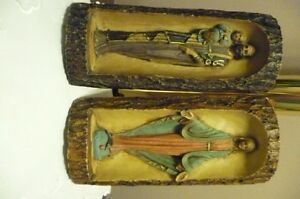 Virgin Mary and St. Joseph Catholic Statue Sculpture Figure